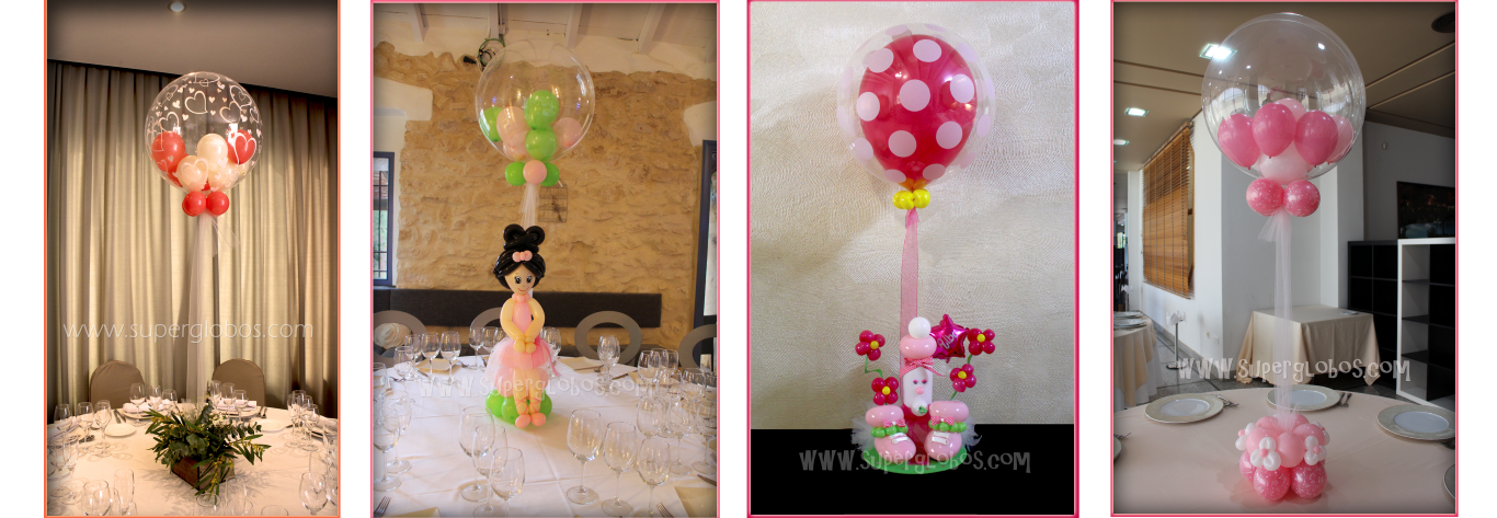 Globos deco Bubbles (Medium)